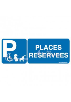 Panneau Places Réservées - B