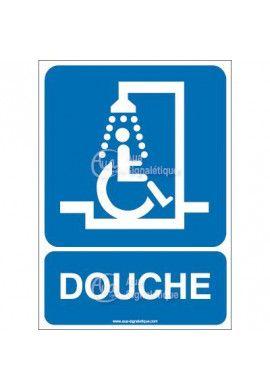 Panneau Douche Handicapé - AI