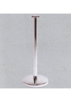 """Poteau de guidage - acier chromé - modèle """"Public"""""""