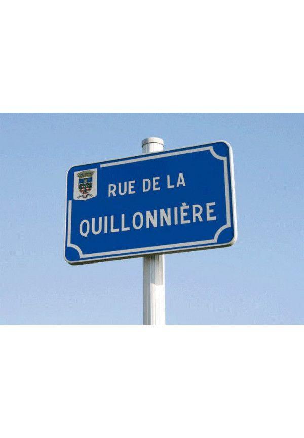 Plaque de Rue Gamme Avantage