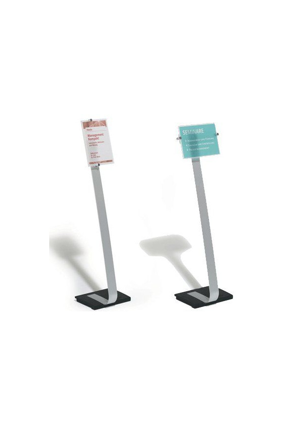 Crystal Sign Stand A3- 420x297mm