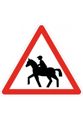 Panneau Passage de cavaliers - A15c