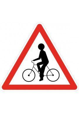Panneau Débouché de cyclistes - A21