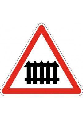 Panneau Passage à niveau muni de barrières - A7