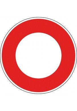 Panneau Circulation interdite - B0