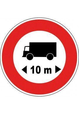 Panneau Limitation de longueur - B10a*