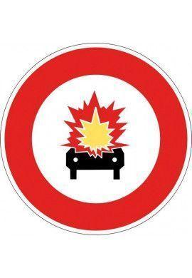 Panneau Accès interdit aux véhicules... - B18a