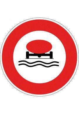 Panneau Accès interdit aux véhicules... - B18b