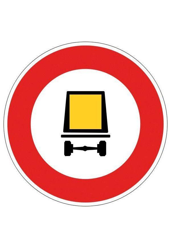 Panneau Accès interdit aux véhicules... - B18c