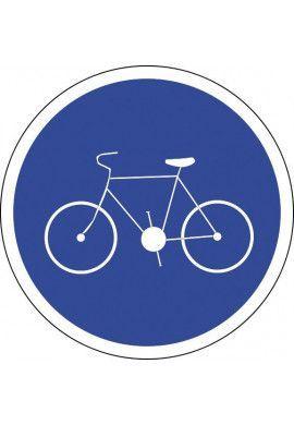 Panneau Piste ou bande cyclable - B22a