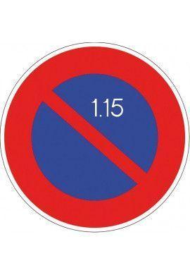 Panneau Stationnement alterné - B6a2