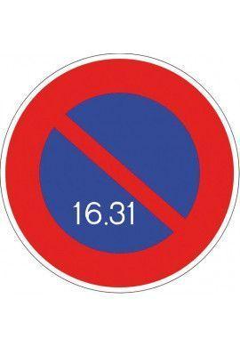Panneau Stationnement alterné - B6a3
