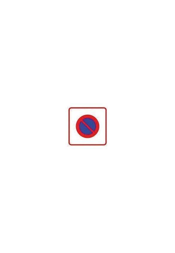 Panneau Zone de stationnement interdit - B6b1