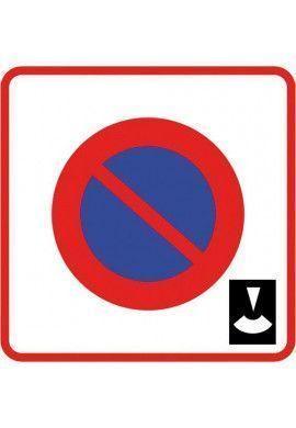 Panneau Zone de stationnement à durée limitée - B6b3