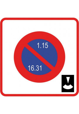 Panneau Stationnement - B6b5