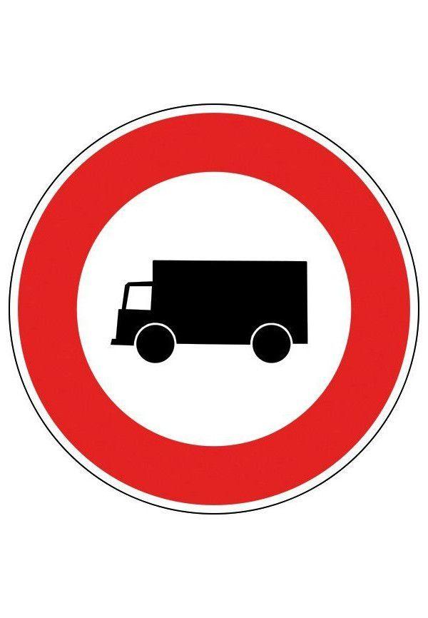 Panneau Accès interdit aux véhicules à moteur - B8