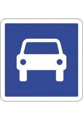 Panneau Route à accès réglementé - C107