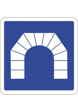 Panneau Entrée d'un tunnel - C111