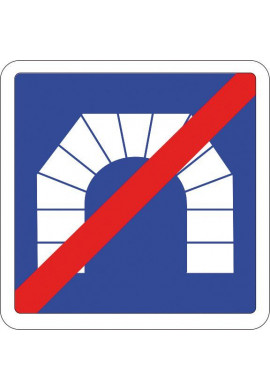 Panneau Sortie de tunnel - C112