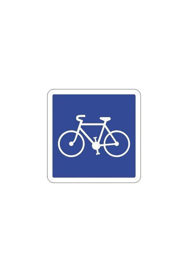 Panneau Piste ou bande cyclable... - C113