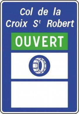 Route est ouverte ou fermée à la circulation publique - C14