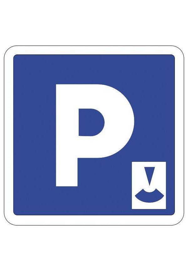 Panneau Parking à durée limitée - C1b