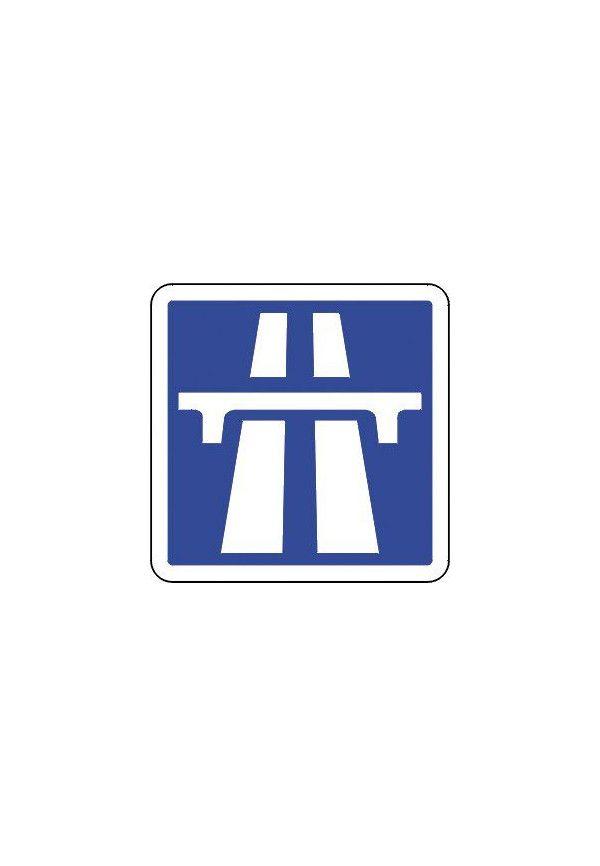 Panneau Début d'une section d'autoroute - C207