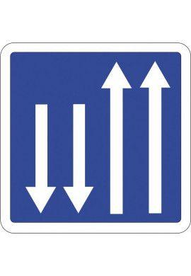 Panneau Présignalisation d'un créneau de dépassement...- C29a