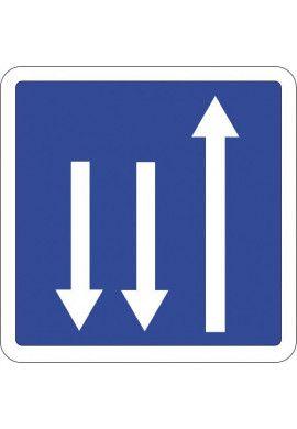 Panneau Présignalisation d'un créneau de dépassement...- C29c