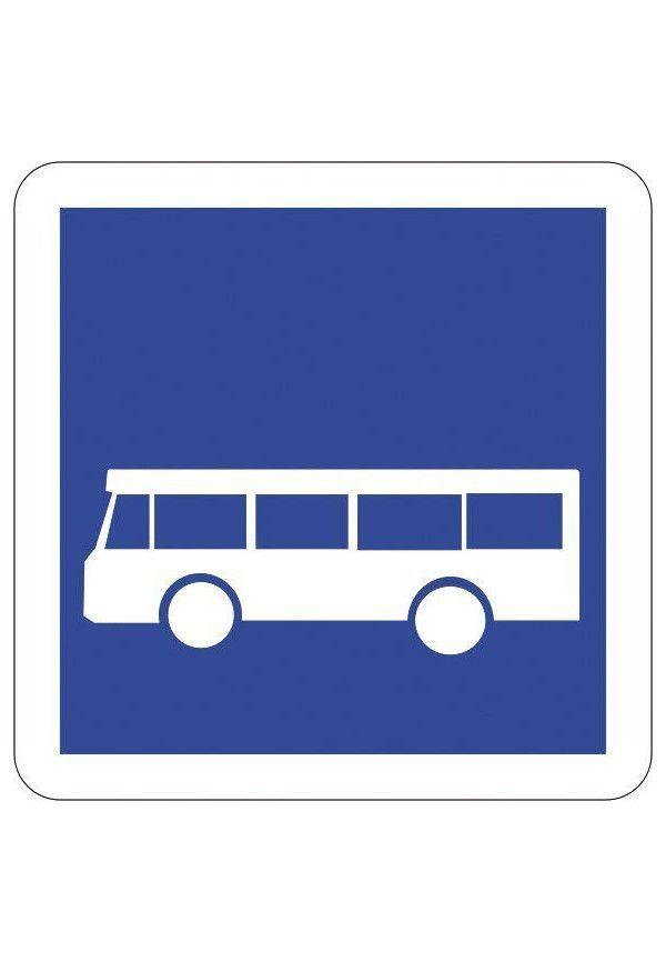 Panneau Arrêt d'autobus - C6