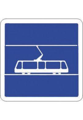 Panneau Arrêt tramway - C7
