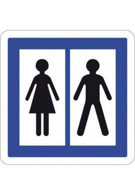 Panneau Toilettes publiques - CE12