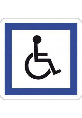 Panneau Personnes handicapées - CE14