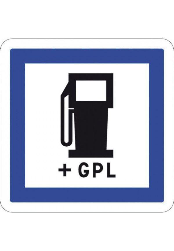 Panneau Station essence + GPL - CE15c