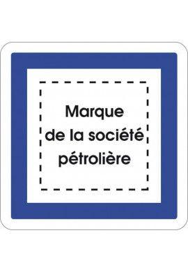 Panneau Marque station - CE15e