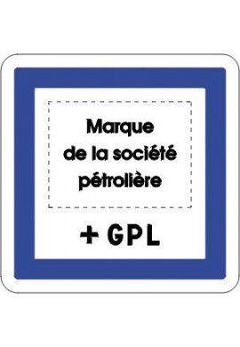 Panneau Marque station + GPL - CE15f