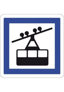 Panneau Gare téléphérique - CE20a
