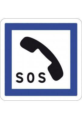 Panneau Poste d'appel d'urgence - CE2a