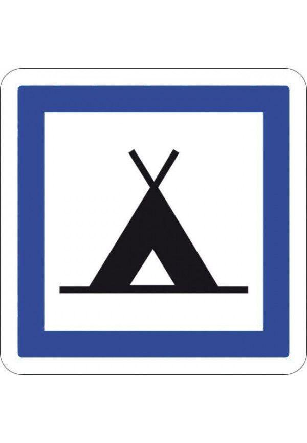 Panneau Camping pour tentes - CE4a