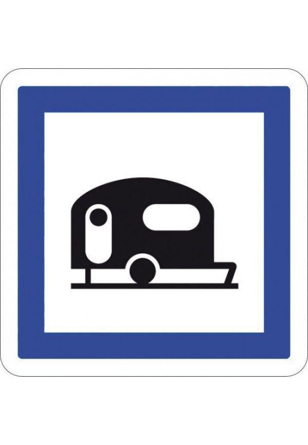 Panneau Camping pour caravane - CE4b