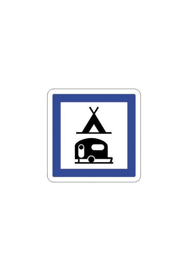 Panneau Camping pour tentes & caravane - CE4c