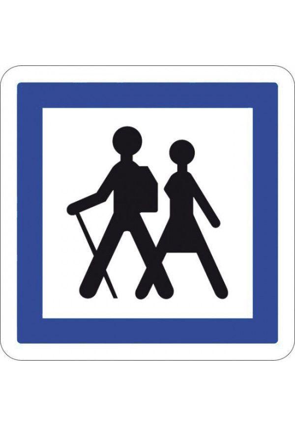 Panneau Itinéraire pédestre - CE6a
