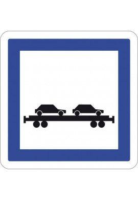 Panneau Gare auto/train - CE8