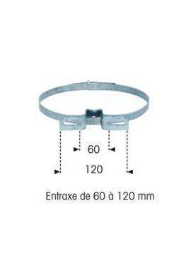 Colliers à Feuillard LX3 60 à 120 mm