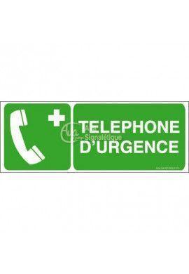 Téléphone d'urgence E004-B