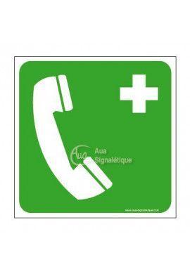 Téléphone d'urgence E004