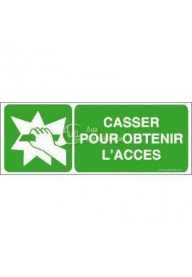 Casser pour obtenir l'accès E008-B