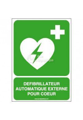 Défibrillateur automatique externe pour cœur E010-AI