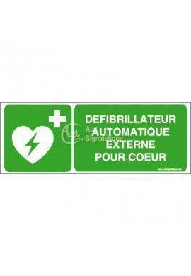 Défibrillateur automatique externe pour cœur E010-B
