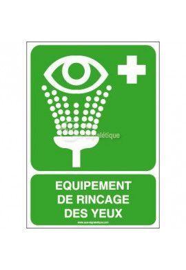 Equipement de rinçage des yeux E011-AI
